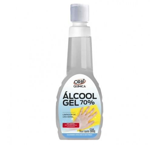 ALCOOL EM GEL 70% 500G